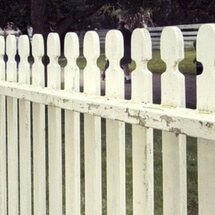 Repair-picket-fence