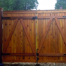 Wood Gate Fences